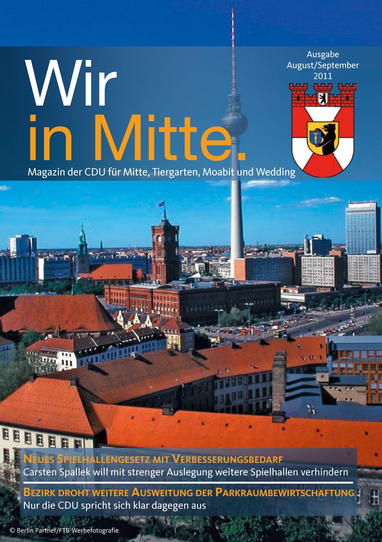 Titelseite der neuen Ausgabe des WIR IN MITTE
